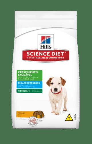 Hills Science Diet Crescimento Saudável Filhote  Pedaços Pequenos