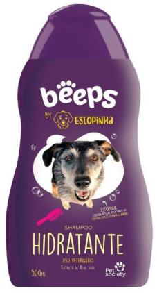 Linha Beeps By Estopinha Shampoo Hidratante 500ml