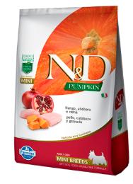N&D Pumpkin Mini 2,5KG