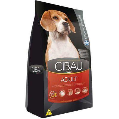 Ração Cibau Adult para Cães Adultos de Raças Médias 15kg