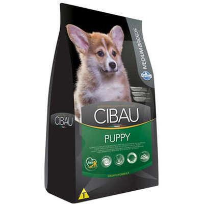Ração Cibau Puppy para Cães Filhotes de Raças Médias 15 KG