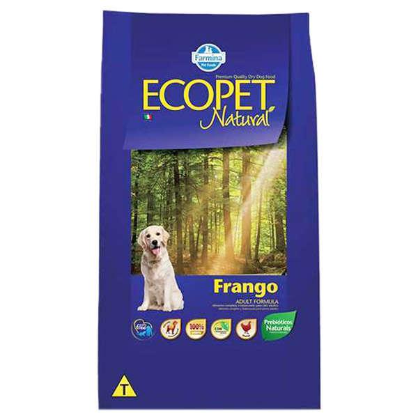 Ração  Ecopet Natural para Cães Adultos Sabor Frango