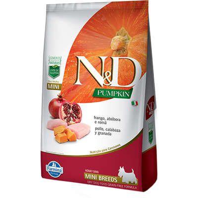 Ração N&D Pumpkin Frango para Cães Adultos de Raças Pequenas 2,5kg