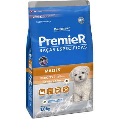 Ração Premier Pet Raças Específicas Maltês Filhotes