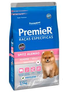 Ração Premier Raças Específicas Spitz Alemão Filhote 2,5kg