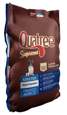 Raçâo Quatree Supreme para Cães Adultos Raças Pequenas