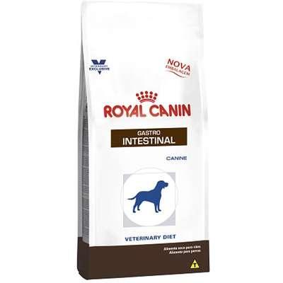 Ração Royal Canin Canine Veterinary Diet Gastro Intestinal para Cães Adultos com Doenças Intestinais 2kg