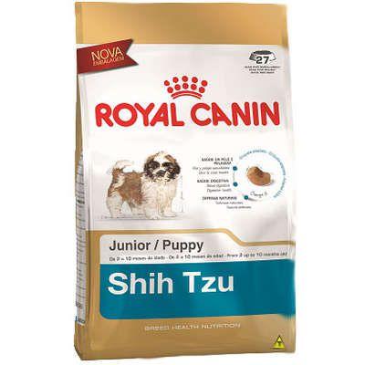 Ração Royal Canin Junior para Cães Filhotes da Raça Shih Tzu