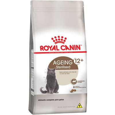 Ração Royal Canin Sterilised para Gatos Adultos Castrados 12+