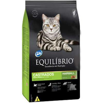 Ração Total Equilíbrio para Gatos Castrados Adultos 7,5kg