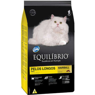 Ração Total Equilíbrio para Gatos de Pelos Longos 1,5kg