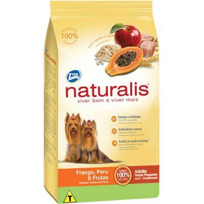 Ração Naturalis para Cães Adultos de Raças Pequenas