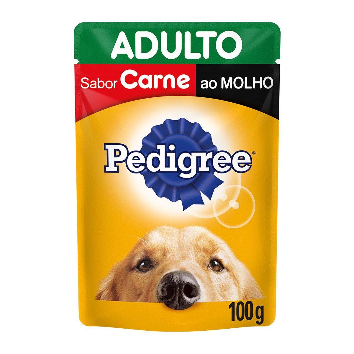 Ração Úmida Pedigree Sachê para Cães Adultos