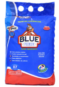 Tapete Higiênico Expet Blue Premium Para Cães