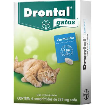 Vermífugo Drontal Gatos Bayer