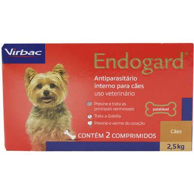 Vermífugo Endogard para Cães