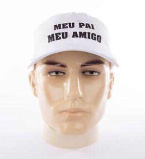Boné em tecido tactel (microfibra) - Modelo Americano com fecho em plástico - R$3,49 unidade, pedido mínimo de 100 unidades