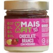 Chocolate branco com morango - Mais Fit