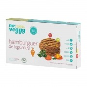 Hambúrguer de legumes - Mr Veggy