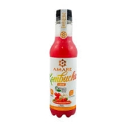 Kombucha sabor Morango, Gengibre e Hibisco - Amare