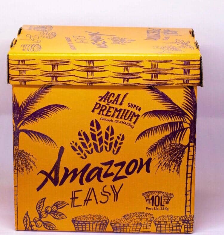 Açaí Amazzon Easy 10 litros