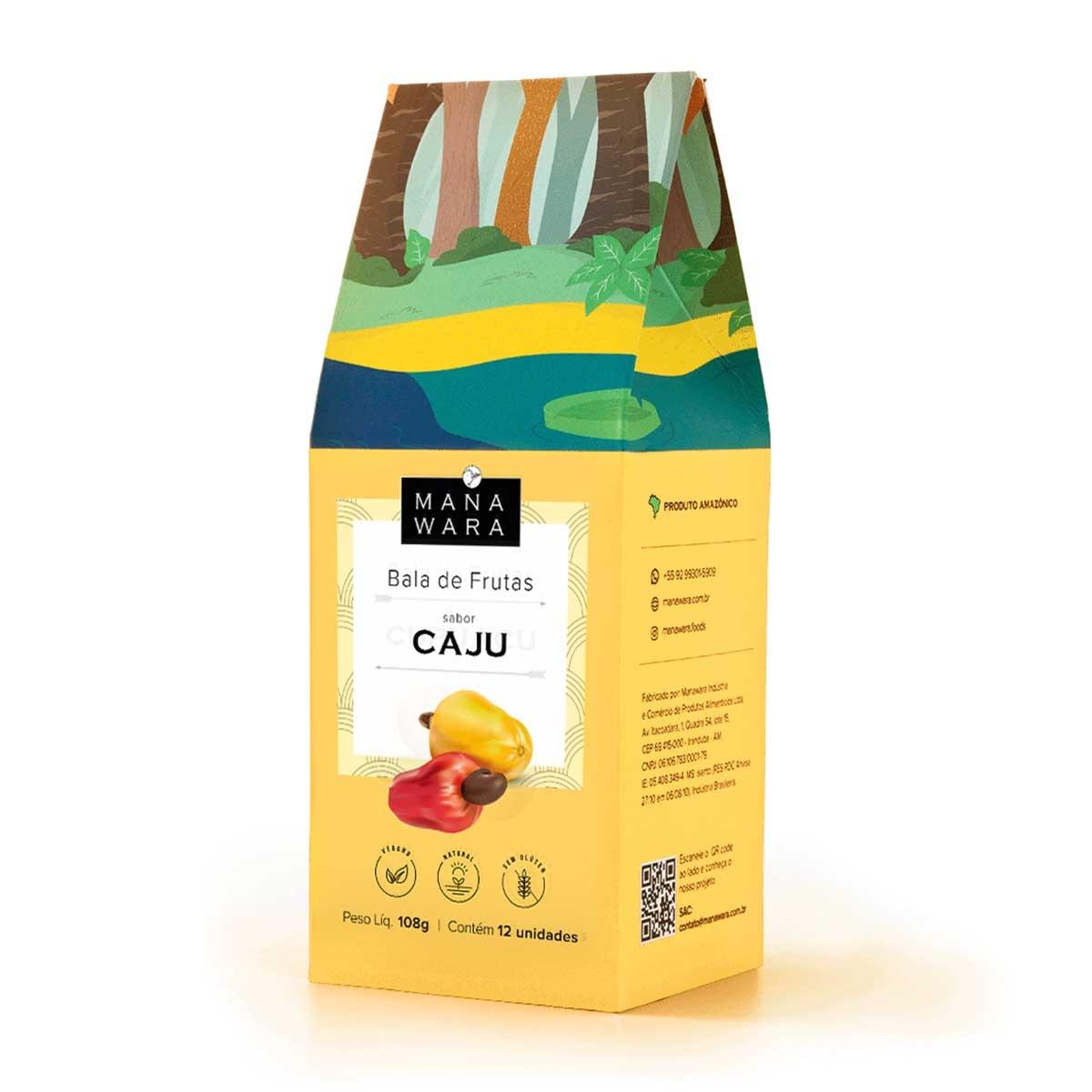 Bala sabor Caju - Manawara