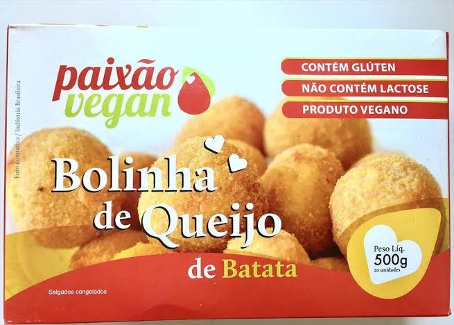 Bolinha de Queijo de Batata - Paixão Vegan