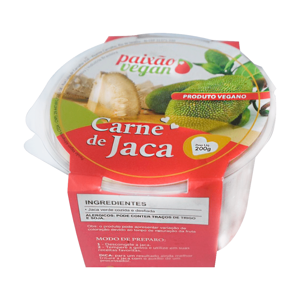 Carne de Jaca - Paixão Vegan