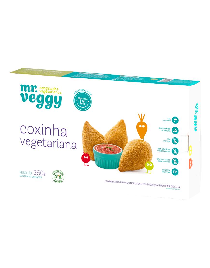 Coxinha Vegetariana