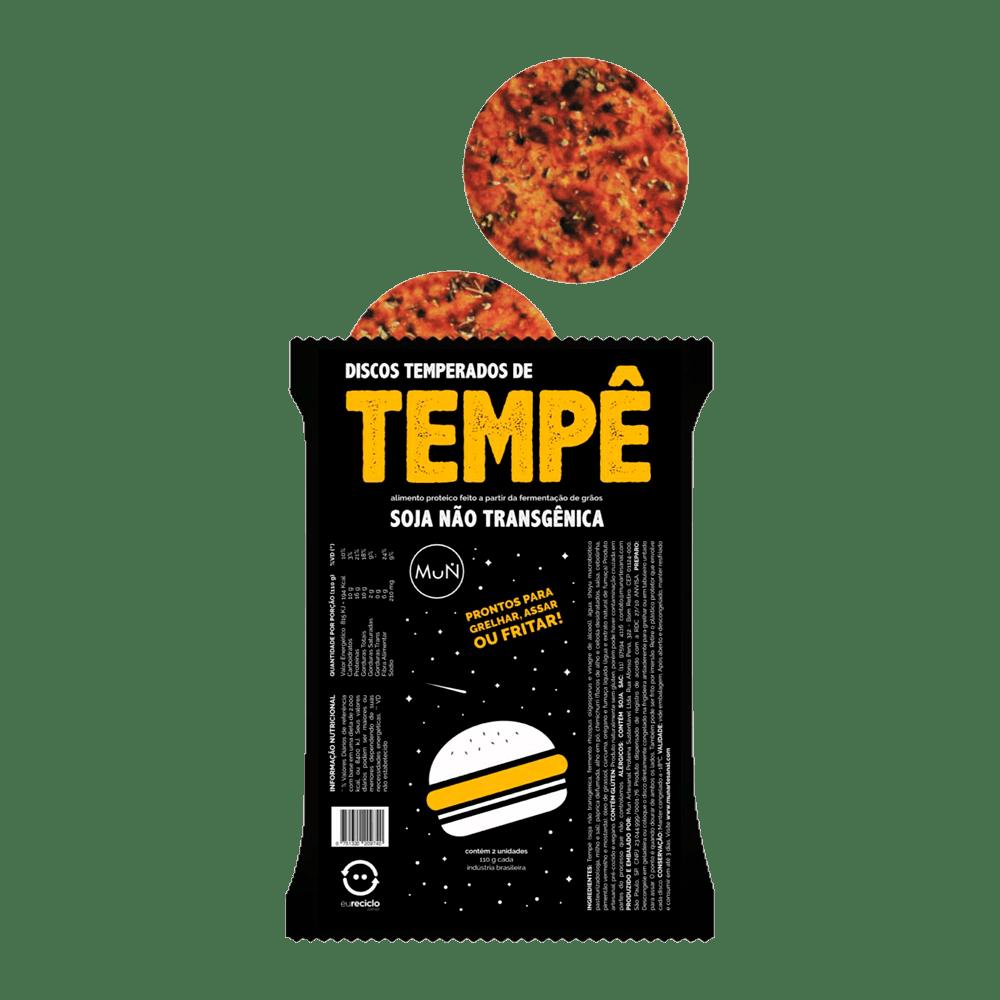 DISCOS TEMPERADOS DE TEMPÊ SOJA NÃO  TRANSGÊNICA