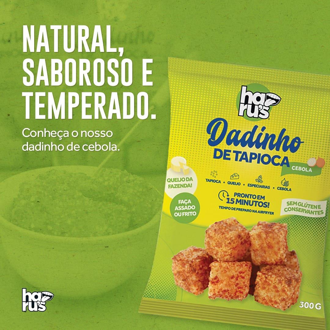 Haru's Dadinho de Tapioca - Sabor Cebola