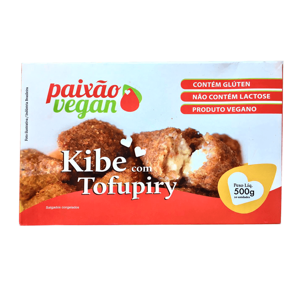 Kibe com Tofupiry - Paixão Vegan