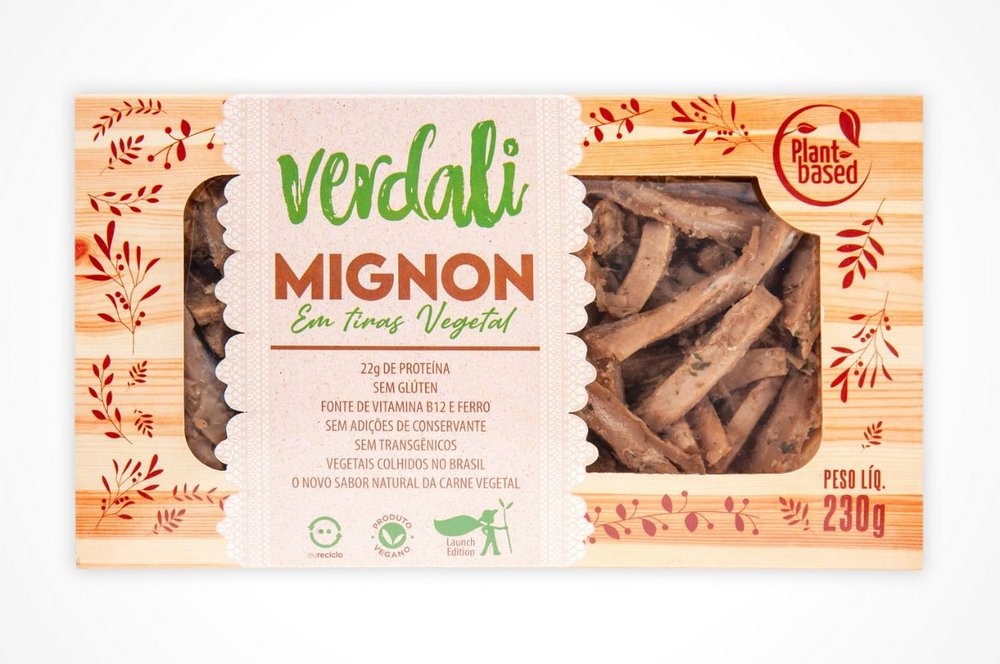 Mignon em Tiras Vegetal - Verdali