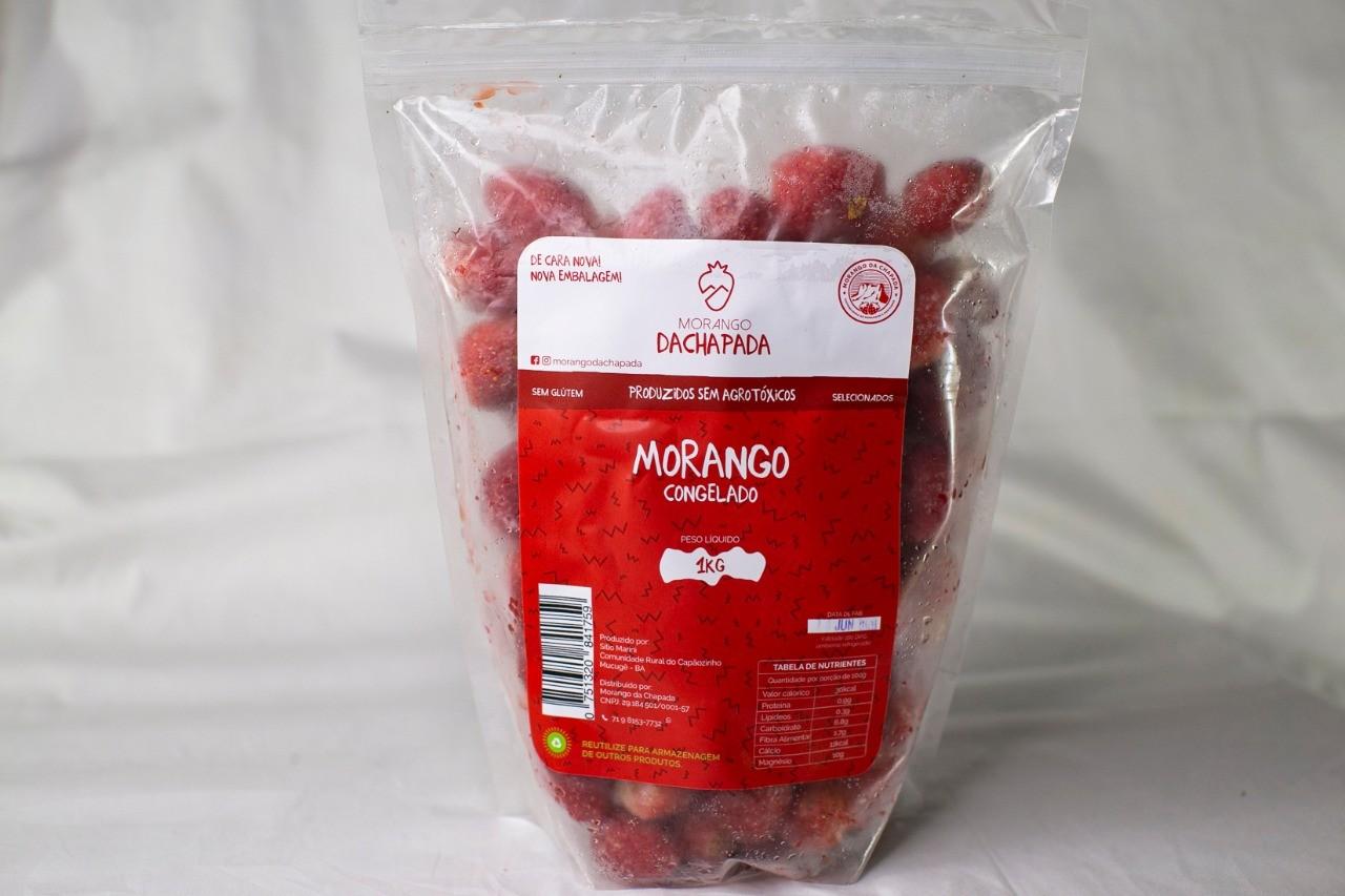 Morango Congelado 1kg
