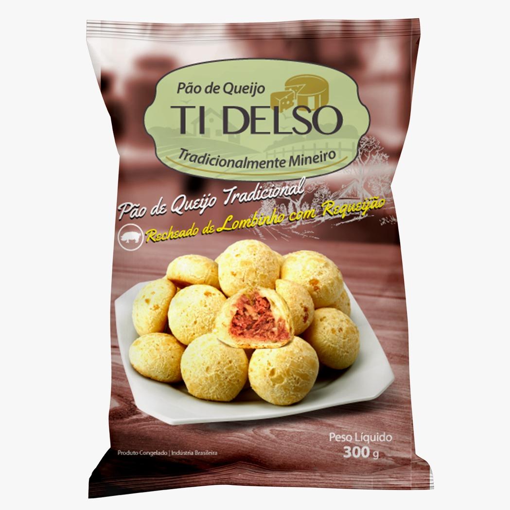 Pão de Queijo sabor Lombinho com requeijão - Ti Delso