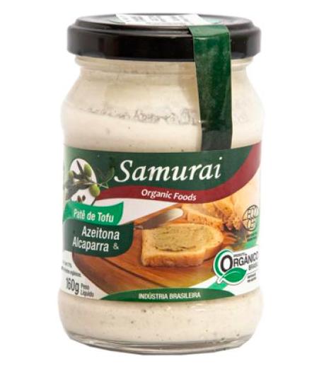 Patê de tofu: azeitona e alcaparra