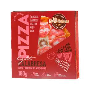 Pizza low carb Calabresa - Gulowseimas