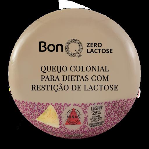 Queijo colonial sem lactose - Bonq