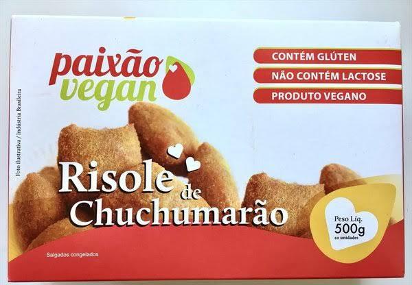 Risole de Chuchumarão - Paixão Vegan