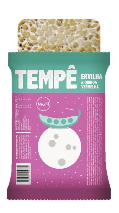 Tempê de Ervilha e Quinoa Vermelha