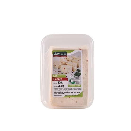 Tofu Picante Orgânico - Samurai Foods