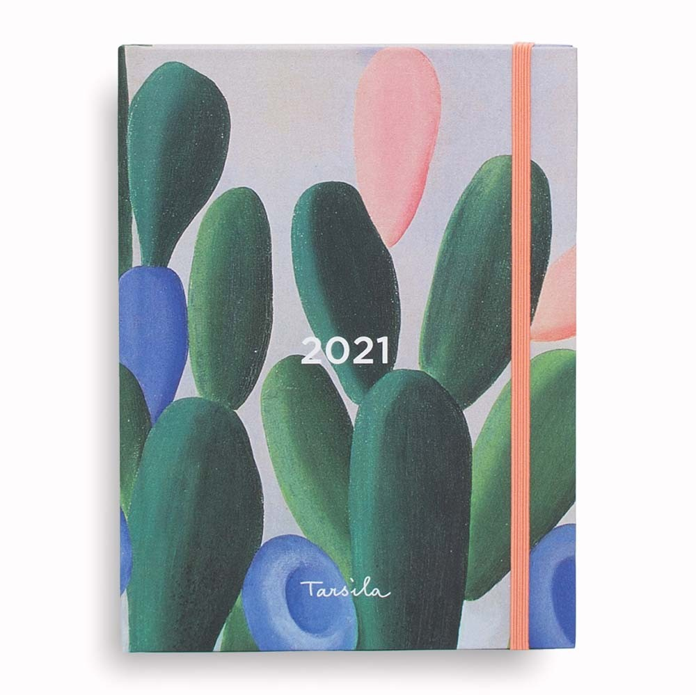 AGENDA SEMANAL TARSILA DO AMARAL - MANACÁ M 2021