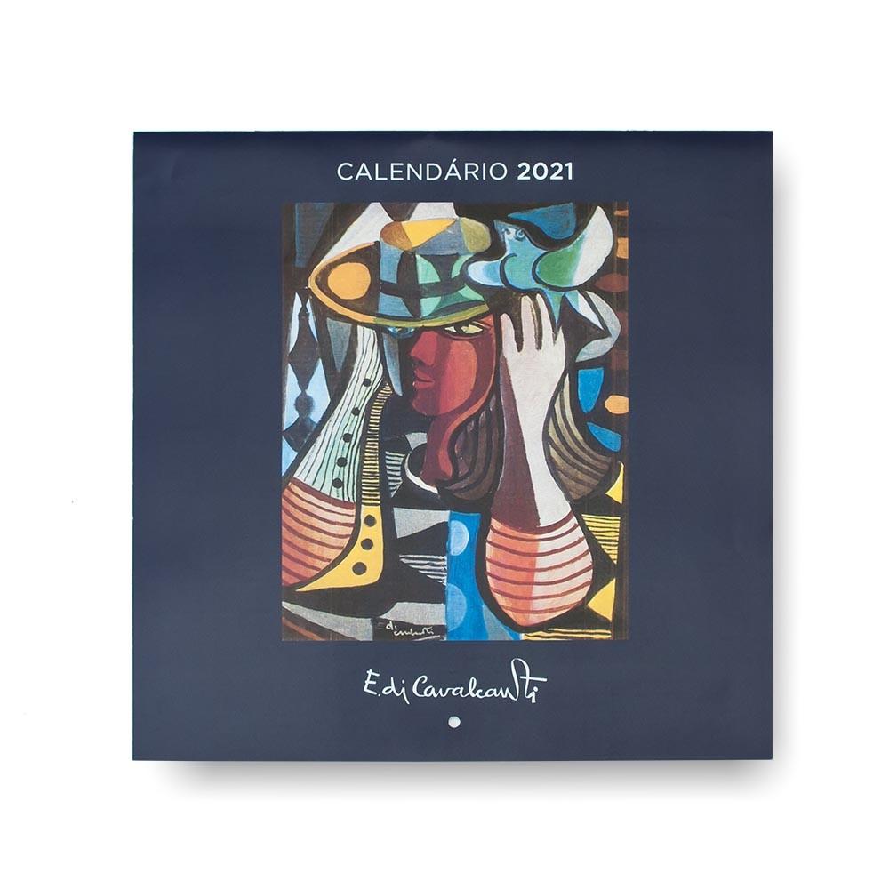 CALENDÁRIO DE PAREDE - DI CAVALCANTI - 2021