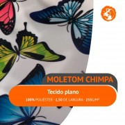Moletom Chimpa Estampado