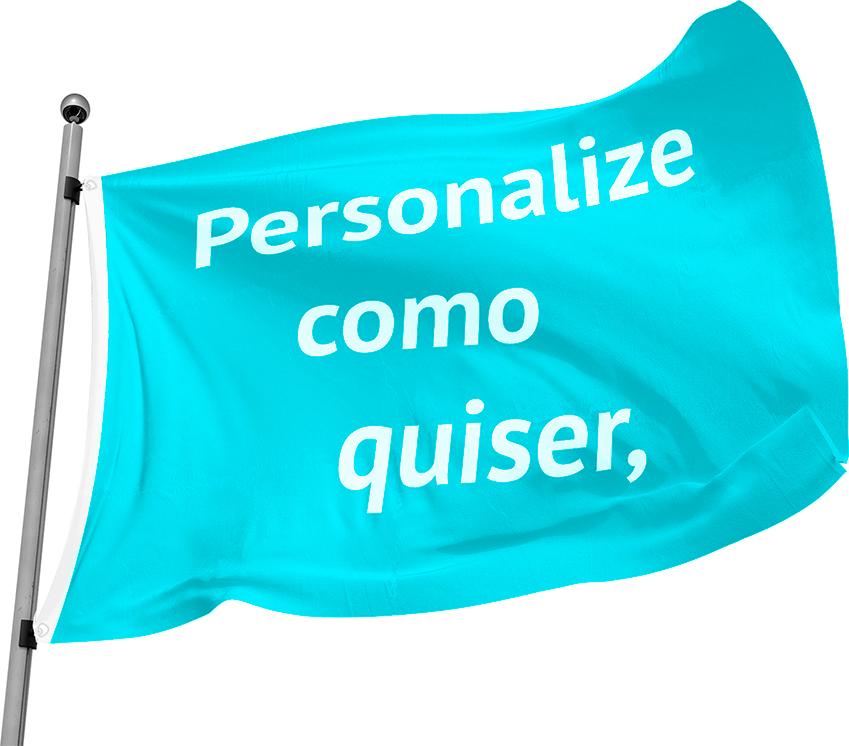 Bandeira Oficial Personalizada