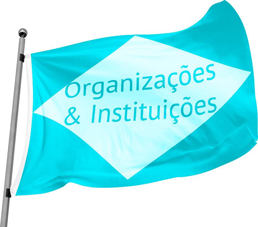 Bandeira Oficial de Instituições / Organizações