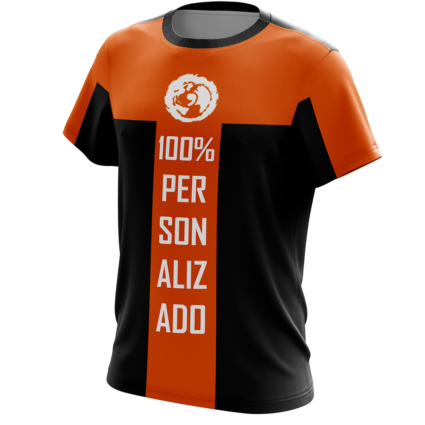 Camiseta personalizada tradicional e raglan