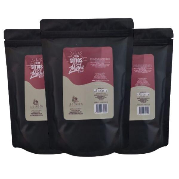 Café Especial Torrado e Moído - 500G - Sítio Matuto - 3 Unidades