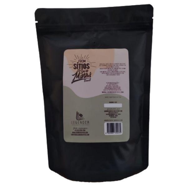CAFÉ ESPECIAL LEGENDÉR TORRADO EM GRÃOS - 500G SÍTIO MATUTO