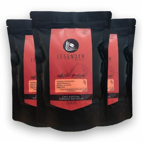 Café Especial Torrado em Grãos - 500g - Edição Mocca - 3 unidades